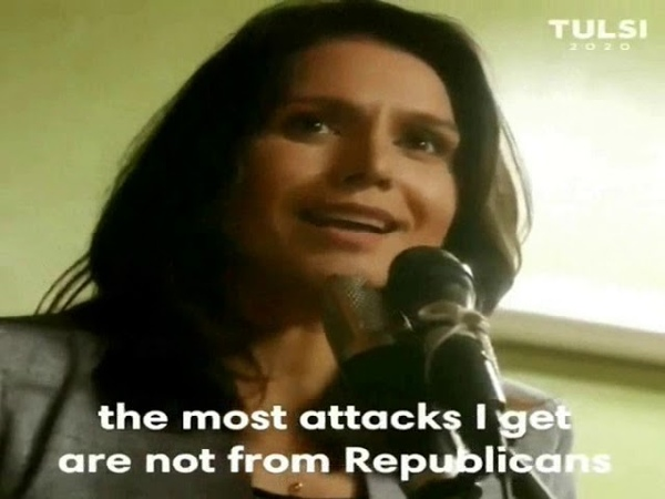 The Tulsi Gabbard Campaign Ad THEY Don't Want American's To See