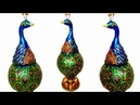 How to make Clay Mural Peacock with waste materials | Craft from waste | Shilpkar Craft