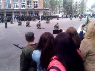 присяга сына Аметиста ( Андрея) Каменка 28.05.2017