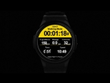 Microwear L1 professional sports smart watch MTK2503 android IOS for man woman