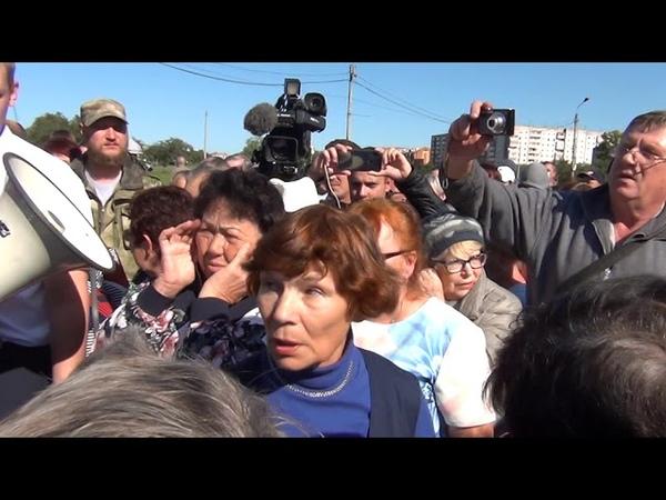 Встреча Павла Грудинина с жителями Черногорска часть 2