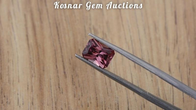 Beautiful Wine Pink Tanzania Zircon Gemstone from KGC