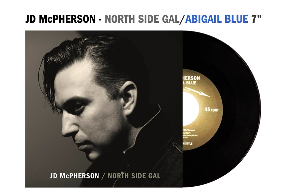 "JD McPherson limited edition 7"" single!"