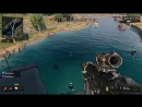 Throwing axe kill on swimmer from helicopter. Black Ops 4 Blackout