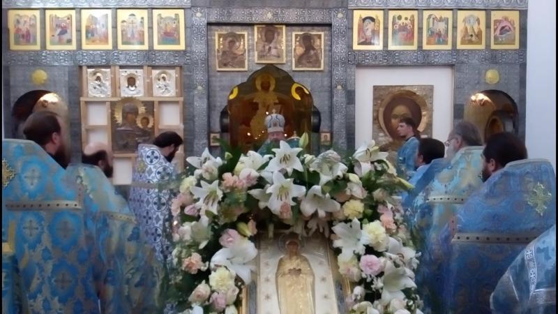 13-15 июня 2018 г.Прославление Луганской иконы Божией Матери