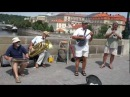 Bridge Band. Praha. Karlov Most. Jazz. 1.07.12