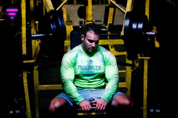 Штука: Спортивная одежда, показывающая мышечную активность