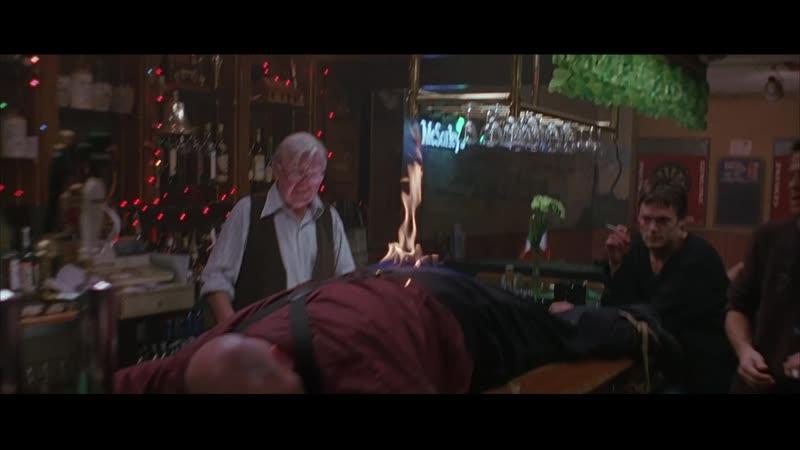 The Boondock Saints - Драка в баре (Гоблин)