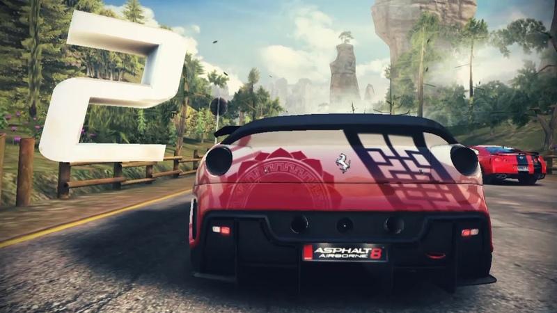 Asphalt8-Apex We Boosters Cup /Ferrari 599XX /01:01:677/