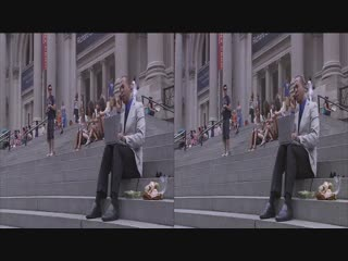 Panasonic 3D Demo. A Day in The New York City 3D VR SBS