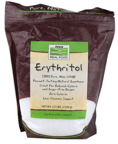 В наличии 2 упаковки эритритола
