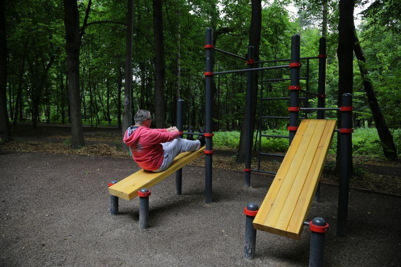 Самый спортивный директор московских парков