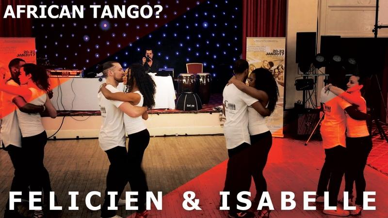 Waldemar Bastos - Sofrimento / Isabelle Felicien Kizomba Dance Demo @ Liverpool SBK Festival 2017