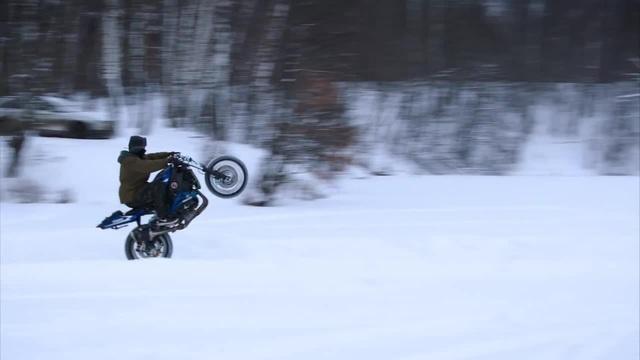 Crazy Russian Winter Stunt | Zmey Gorynich - Морозобой