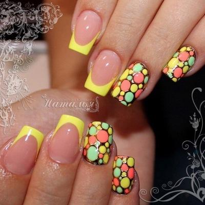 Фото дизайн летних ногтей