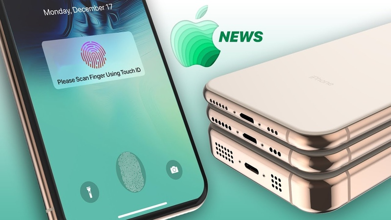 2019 iPhone Leaks, Touch ID Could Return More Apple News!