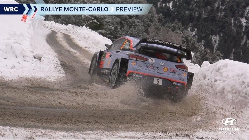 Анонс ралли Монте Карло 2019 Hyundai Motorsport