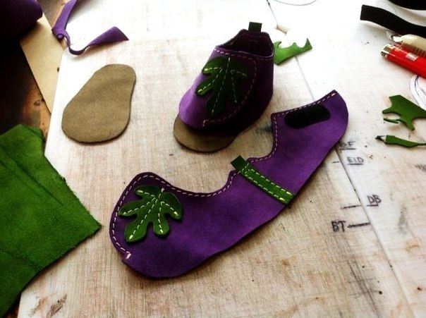 Шьем ботиночки для малышей