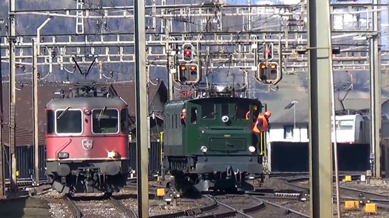 Tripla trazione a vapore sul Gottardo – Dreifachtraktion volldampf am Gotthard – part 11