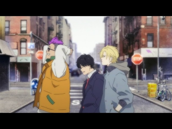 Banana Fish (バナナフィッシュ) OP - found lost / Survive Said The Prophet