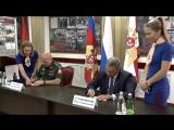 Гашение художественного конверта. К 100-летию генерала армии И.К. Яковлева