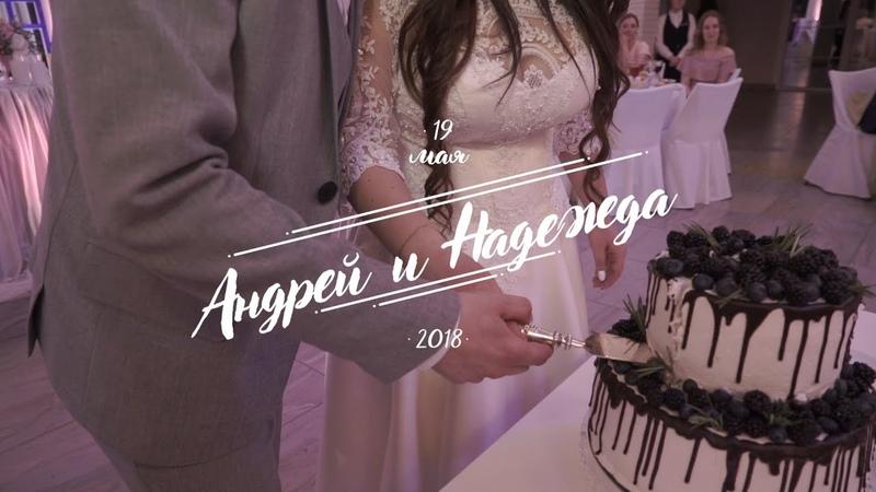 Андрей и Надежда Свадьба Киров Видеограф ZEBRA films
