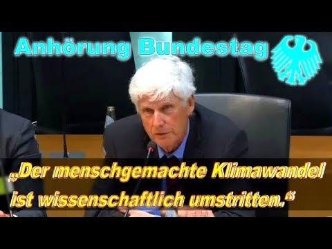 Prof Dr Lüdecke EIKE zerlegt CO₂ Klimahysterie im Bundestag