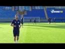 Тренировка ФК Динамо Минск на стадионе Петровский
