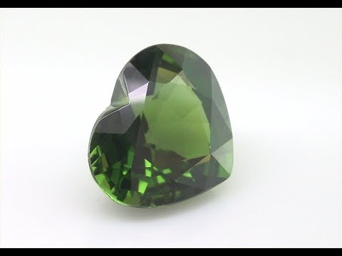 Rare GGT Certified Genuine Chrome Tourmaline 3 60 Carats Gorgeous Green Color C1162