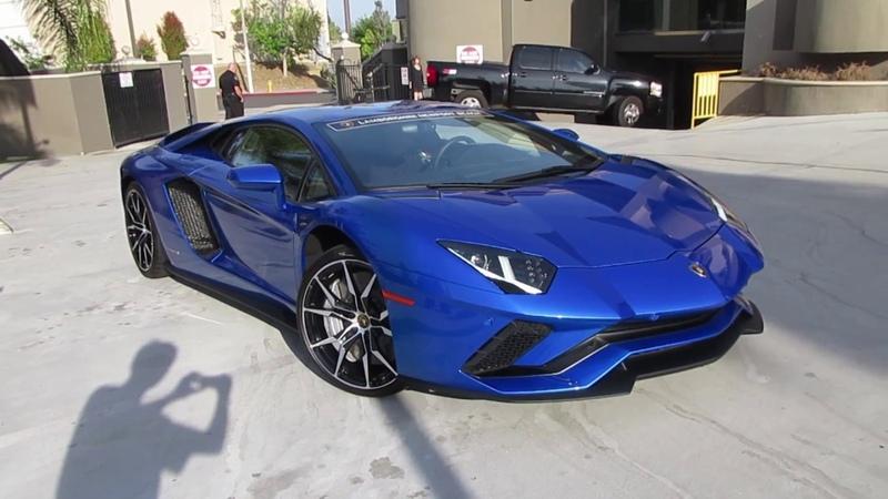 Blu Nethuns Lamborghini Aventador S (w/ startup)