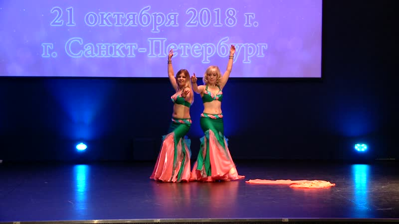 Belly flowers oriental classic duos / festival DIAMANT 2018