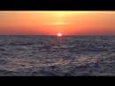 Закат на Черном море, Адлер, июнь 2018.