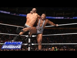 Rob Van Dam & Big E vs. Cesaro & Bad News Barrett: SmackDown, May 9, 2014