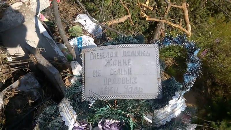 В Великом Устюге деревню Слободка завалили мусором с кладбища