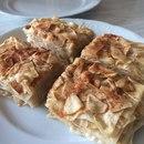Яблочно-медовый десерт из лаваша без выпечки: максимум пользы и вкуса!