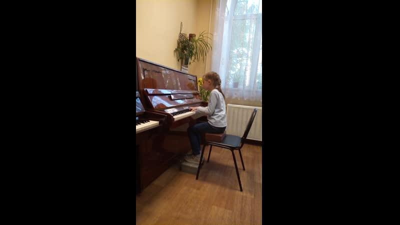 П И Чайковский Старинаая французская песенка из Детского альбома исп Желткевич Дарья