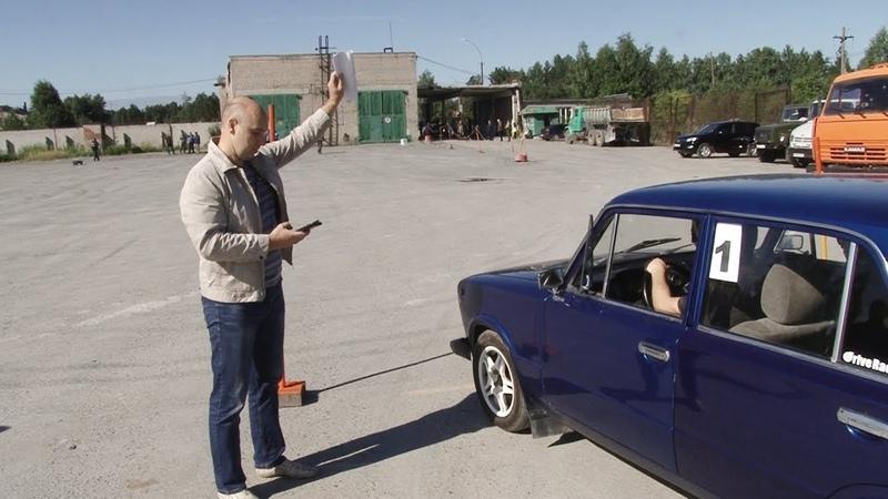 В честь Дня строителя комбинат Ураласбест организовал соревнования по скоростному маневрированию.