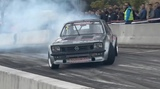 Opel Kadett drifting
