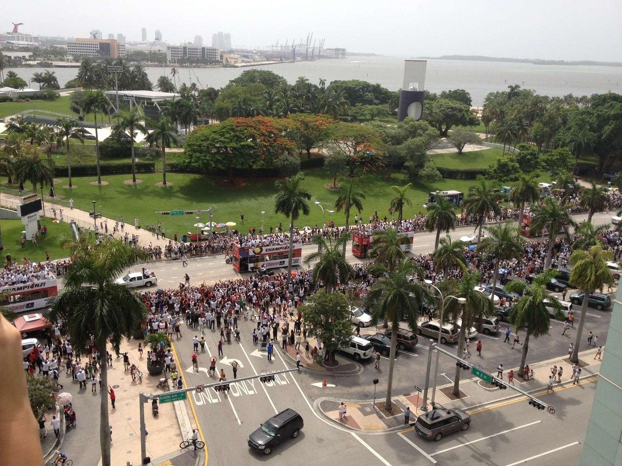 Парад Майами Хит 2012