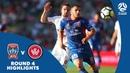 Hyundai A-League 2017/18 Round 4: Newcastle Jets vs Western Sydney Wanderers