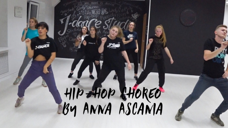 Hip-hop choreo By Anna Ascania (J-Dance Studio)