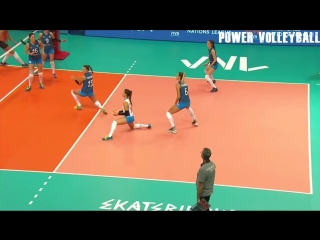 Top 20 best womens volleyball actions ● volleyball nations league 2018 (hd)