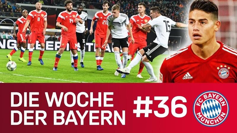 Länderspielpause nach dem Klassiker James-Schock | Die Woche der Bayern | Ausgabe 36