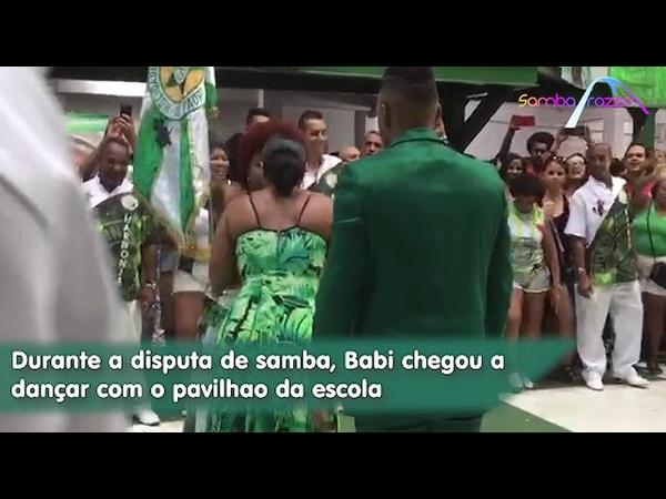 Mocidade faz homenagem para Babi Cruz (Vídeo exclusivo)