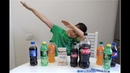 Взрыв напитков Эксперимент с Coca-Cola, Pepsi, Mirinda и 7up