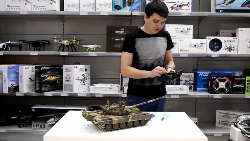 Обзор на радиоуправляемый танк Heng Long T90 Russia 3938-1pro