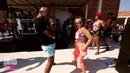Osbanis Anneta dancing at the pool party in Rovinj @Croatian Summer Salsa Festival 2018