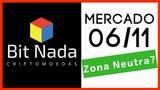 Mercado de Cripto! 0611 Bitcoin em ZONA NEUTRA TOP 10 subindo muito!
