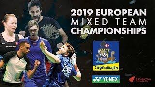 Russia (Bolotova / Ivanov) vs Germany (Efler / Seidel) - Day 2- European Mixed Team C'ships 2019