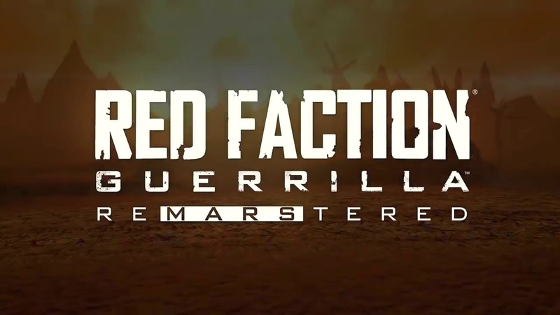 RED FACTION GUERRILLA RE MARS TERED Edition Trailer 2018 PS4 Xbox One PC игртрейлер